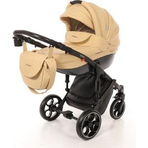 Коляска Mr Sandman Mod (2 в 1) 100% Эко кожа Бежевый (KMSM100-073202) коляска mr sandman guardian 2 в 1 темно бежевый бежевый kmsg 043609