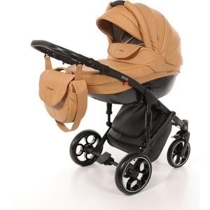 Коляска Mr Sandman Mod (2 в 1) 100% Эко кожа Темно-Бежевый (KMSM100-073203) коляска mr sandman guardian 2 в 1 темно бежевый бежевый kmsg 043609
