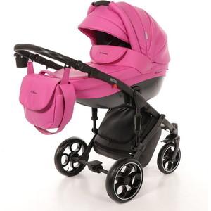 Коляска Mr Sandman Mod (2 в 1) 100% Эко кожа Розовый (KMSM100-073213) коляска mr sandman maestro 2 в 1 100% эко кожа персиковый kmsm100 073112