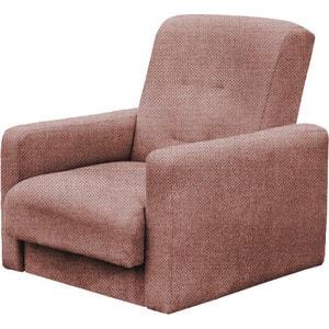 Кресло Стоффмебель (ЛМФ) Лондон-2 рогожка коричневая шатура комплект лондон 2 рогожка микс бежевая диван 2 кресла