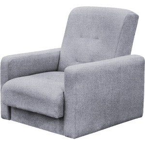 Кресло Стоффмебель (ЛМФ) Лондон-2 рогожка серая шатура комплект лондон 2 рогожка микс бежевая диван 2 кресла