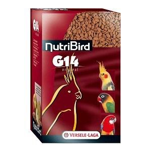 Корм VERSELE-LAGA NutriBird G14 Original гранулированный для средних попугаев 1кг веселый попугай отборное зерно для средних попугаев 450 г