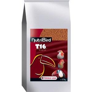 Корм VERSELE-LAGA NutriBird T16 гранулированный для туканов 10кг корм для птиц vitakraft menu vital для волнистых попугаев основной 1кг