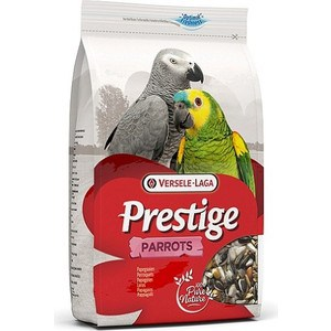 Корм VERSELE-LAGA Prestige Parrots для крупных попугаев 15кг лакомства дл птиц versele laga prestige палочки дл канареек с йцом и ракушечником 2х30г