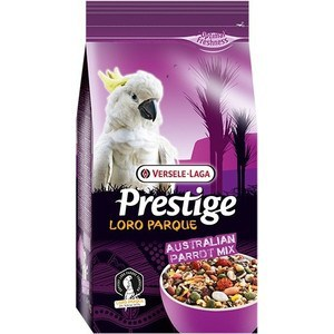 Корм VERSELE-LAGA Prestige Loro Parque Australian Parrot Mix для крупных австралийских попугаев 15кг корм для птиц vitakraft menu vital для волнистых попугаев основной 1кг