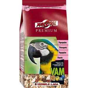 Корм VERSELE-LAGA Prestige Premium Parrots для крупных попугаев 15кг корм для птиц vitakraft menu vital для волнистых попугаев основной 1кг