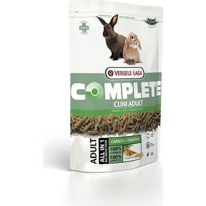 Корм VERSELE-LAGA Complete Cuni Adult Carrot + Timothy с морковью и тимофеевкой луговой для кроликов 1,75кг стоимость