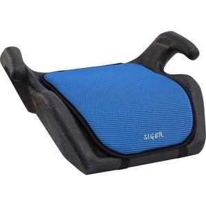 Автокресло Siger Мякиш синий, 6-12 лет, 22-36 кг, группа 3 автокресло siger бустер серый 6 12 лет 22 36 кг группа 3