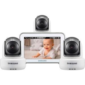 Видеоняня Samsung SEW-3043WPX3 камера vikcam c25 720p hd ip камера двухсторонняя аудио 360 градусов угол обзора тройной поток безопасности