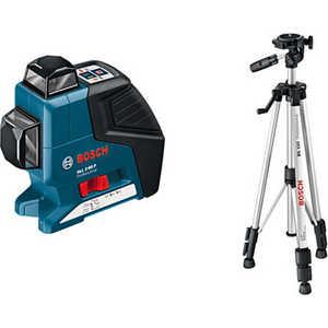 Построитель плоскостей Bosch GLL 2-80 P + BS 150 (0.601.063.205) bosch gll 3 80 p bt250 0 601 063 30b