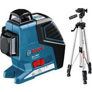 Построитель плоскостей Bosch GLL 3-80 P + BS 150 (0.601.063.306) bosch gll 3 80 p bt250 0 601 063 30b