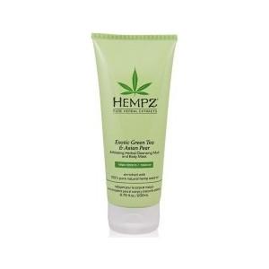 Маска HEMPZ Exotic Green Tea & Asian PearExfoliating Cleansing Mud&Mask глина отшелушивающая 200 мл (676280022669) от ТЕХПОРТ