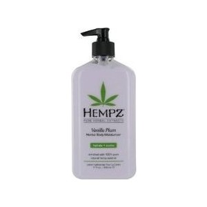 цена Молочко HEMPZ Vanilla Plum Herbal Body Moisturizer для тела увлажняющее Ваниль и Слива 500 мл (676280014510)