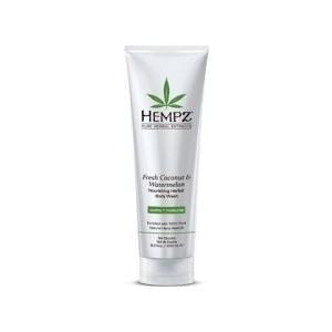 Гель HEMPZ Fresh Coconut&Watermelon Herbal Body Wash для душа Кокос и Арбуз 250 мл (110-2152-03) hempz гель для душа тройное увлажнение triple moisture herbal body wash 250 мл