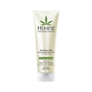Гель HEMPZ Sensitive Skin Calming Herbal Body Wash для душа Чувствительная кожа 250 мл (110-2168-03) hempz гель для душа тройное увлажнение triple moisture herbal body wash 250 мл