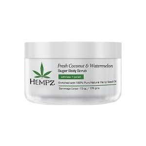 Скраб HEMPZ Fresh Coconut&Watermelon Sugar Body Scrub для тела Кокос и Арбуз 176 гр. (676280022164)