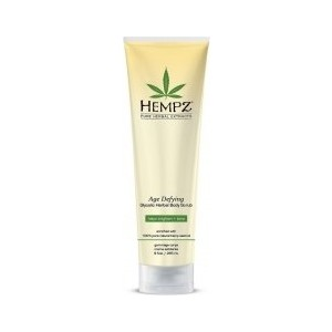 Скраб HEMPZ Age Defying Herbal Body Scrub для тела Антивозрастной (прозрачная туба) 265 гр. (676280022140)