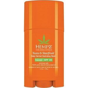 Бальзам HEMPZ Daily Herbal Hydrating Stick SPF 30 стик солнцезащитный увлажняющий Юдзу и Карамбола SPF 30 45 гр. (110-2268-03) herbal muscle