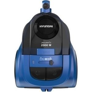 Пылесос Hyundai H-VCC05 синий/черный пылесос hyundai h vcb01