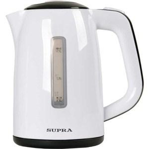 Чайник электрический Supra KES-1728 white/grey электрический чайник supra kes 1701 white