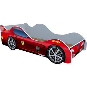 Кровать машинки Феррари красная