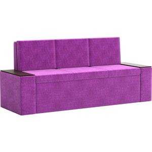 Кухонный диван АртМебель Лина Микровельвет (фиолетовый) лина ди открой