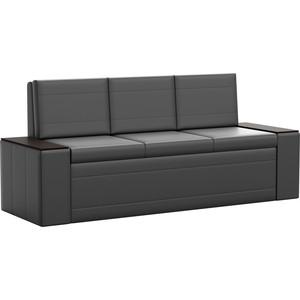Кухонный диван АртМебель Лина эко-кожа (черный) лина ди открой