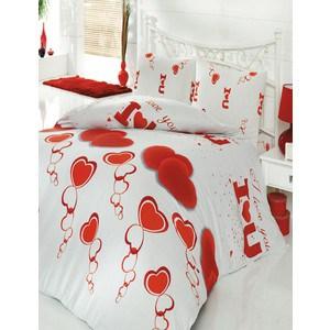 где купить  Комплект постельного белья Cotton Life 1,5 сп, Love You (6053)  по лучшей цене