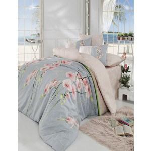 где купить Комплект постельного белья Cotton Life 1,5 сп, Orkide персиковый (8018персиковый) по лучшей цене