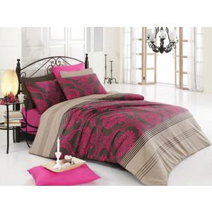 где купить Комплект постельного белья Cotton Life 1,5 сп, Elegance фуксия (8027фуксия) по лучшей цене