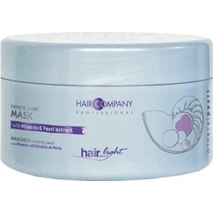HAIR COMPANY PROFESSIONAL HAIR LIGHT MINERAL PEARL Mask Маска с минералами и экстрактом жемчуга 500мл brelil professional hair juice nutri mask
