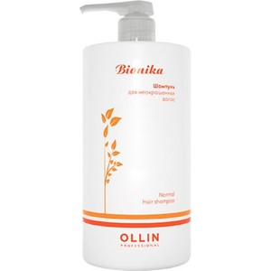 OLLIN PROFESSIONAL BioNika Шампунь для неокрашенных волос Non-colored Hair Shampoo 750мл kemei km 327 professional hair straightener flat iron