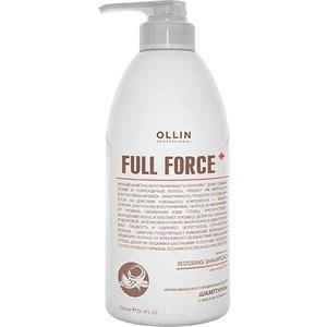 OLLIN PROFESSIONAL FULL FORCE Интенсивный восстанавливающий шампунь с маслом кокоса 750мл