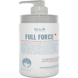 OLLIN PROFESSIONAL FULL FORCE Тонизирующая маска с экстрактом пурпурного женьшеня 650мл увлажняющая маска с экстрактом алоэ 650 мл ollin professional