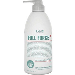 где купить OLLIN PROFESSIONAL FULL FORCE Увлажняющий шампунь против перхоти с экстрактом алоэ 750мл дешево