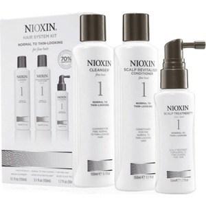 NIOXIN Набор (Система 1) 150мл+150мл.+50мл. Шампунь, кондиционер и маска