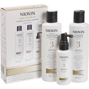 NIOXIN Набор (Система 3) 150мл+150мл.+50мл. Шампунь, кондиционер и маска