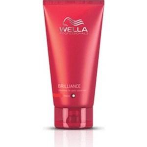 WELLA PROFESSIONALS Brilliance Line Бальзам для окрашенных жестких волос 200мл. wella крем маска brilliance line для окрашенных жестких волос 150 мл