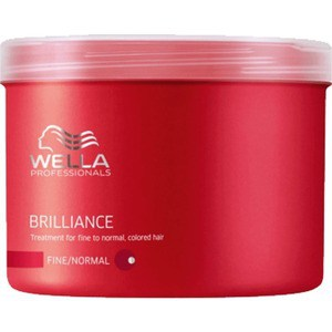 WELLA PROFESSIONALS Brilliance Line Маска для окрашенных нормальных и тонких волос 500мл.