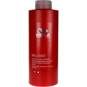 WELLA PROFESSIONALS Brilliance Line Шампунь для окрашенных жестких волос 1000мл. wella крем маска brilliance line для окрашенных жестких волос 150 мл