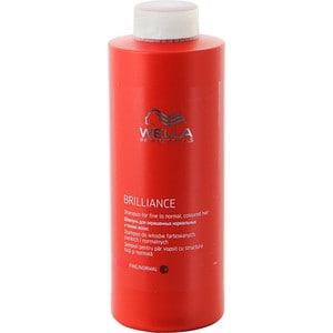 WELLA PROFESSIONALS Brilliance Line Шампунь для окрашенных нормальных и тонких волос 1000мл. wella бальзам brilliance line для окрашенных нормальных и тонких волос 1000 мл