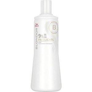 WELLA PROFESSIONALS BLONDOR FREELIGHTS 9% Окислитель 1000мл краска для волос wella professionals blondor freelights white lightening powder 400 гр