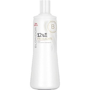 WELLA PROFESSIONALS BLONDOR FREELIGHTS 12% Окислитель 1000мл краска для волос wella professionals blondor freelights white lightening powder 400 гр