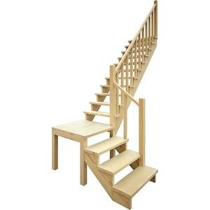 Лестница деревянная ЛЕСЕНКА ЛЕС-08 универсальная лестница деревянная лесенка лес 715 универсальная