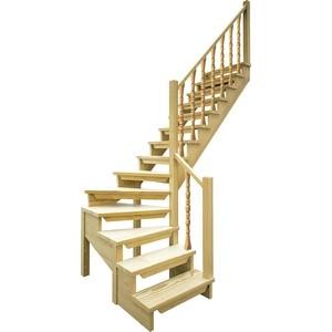 Лестница деревянная ЛЕСЕНКА ЛЕС-09 универсальная лестница деревянная лесенка лес 715 универсальная