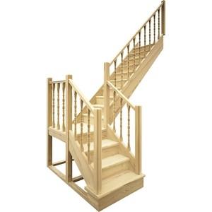 Лестница деревянная ЛЕСЕНКА ЛЕС-04 универсальная лестница деревянная лесенка лес 715 универсальная