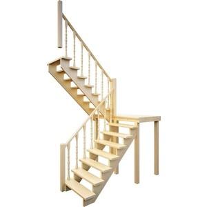 Лестница деревянная ЛЕСЕНКА ЛЕС-62 универсальная лестница деревянная лесенка лес 715 универсальная