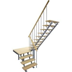 Лестница на металлокаркасе ЛЕСЕНКА ЛЕС-06 универсальная