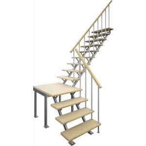 Лестница на металлокаркасе ЛЕСЕНКА ЛЕС-05-3 универсальная h-2970 мм.