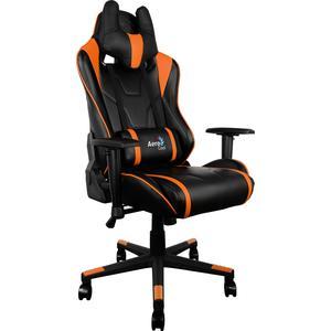 Кресло для геймера Aerocool AC220-BO черно-оранжевое
